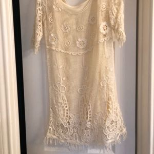 Ivory mimi Chica lace dress